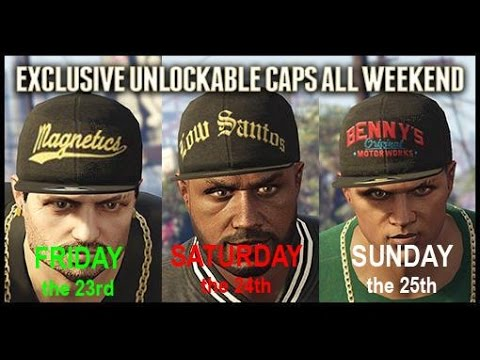GTA V Online - Lowriders Event Weekend Fri 23rd - Sun 25th ** EXCLUSIVE HATS ** & More!