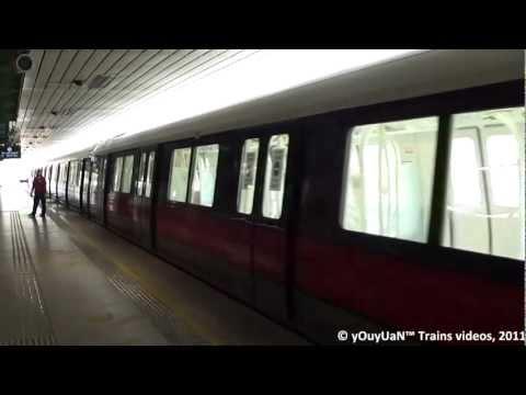 [EXCLUSIVE] SMRT Kawasaki Heavy Industries C151A (KSF) 501-502 - Ang Mo Kio Station (Test Train)