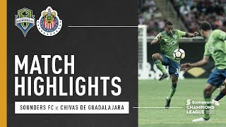 Highlights: Seattle Sounders FC at Chivas Guadalajara | March 14, 2018 thumbnail