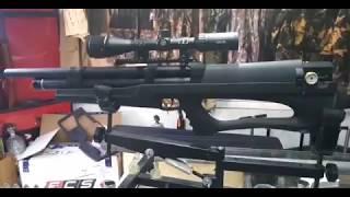 Huben K1 PCP Bullpup revision en Field Target Chile Rifle de aire comprimido