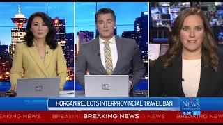 Horgan rejects interprovincial travel ban