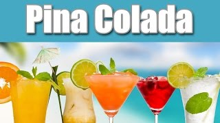 Pina Colada Cocktail Rezept Tutorial Deutsch Anleitung