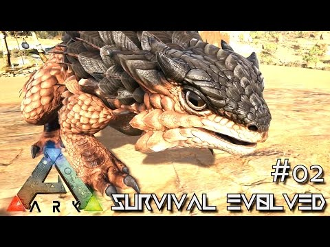 ARK: SCORCHED EARTH - NEW THORNY DRAGON TAMED !!! E02 (ARK SURVIVAL EVOLVED GAMEPLAY)