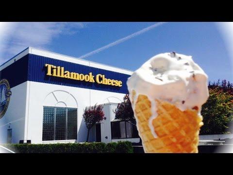 tour of Tillamook Cheese factory