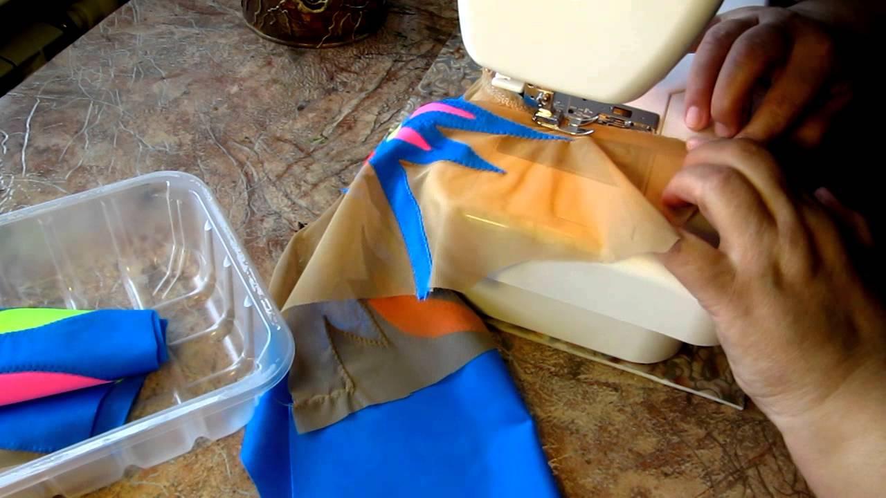 Шьём из трикотажных и стрейчевых тканей. Техника шитья. Обсуждение на 95