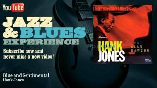 Hank Jones - Blue and Sentimental - JazzAndBluesExperience
