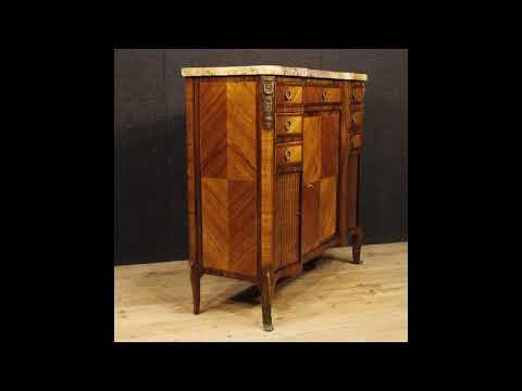 Credenza Con Piano In Marmo : Credenza francese in legno con bronzi dorati piano marmo