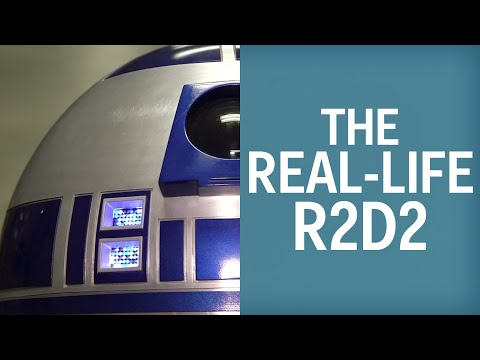 This Real-Life R2D2 Cost $6,000 To Make
