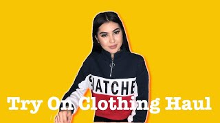 TRY ON CLOTHING HAUL!!!!