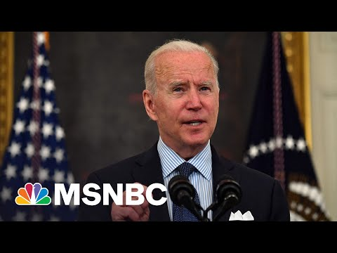 Biden Announces Goal For 70% Of Adults To Have At Least One Covid Shot By July 4   MSNBC
