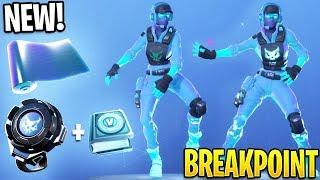 *NEW* Fortnite Breakpoint's Challenge Pack & VBuck Rewards! (Breakpoint Skin Bundle)