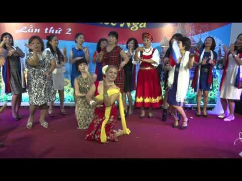 Natasa với điệu múa HOA CHĂM PA