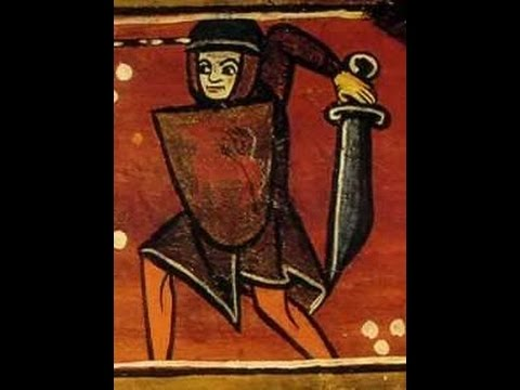 Medieval falchions were not like battle axes