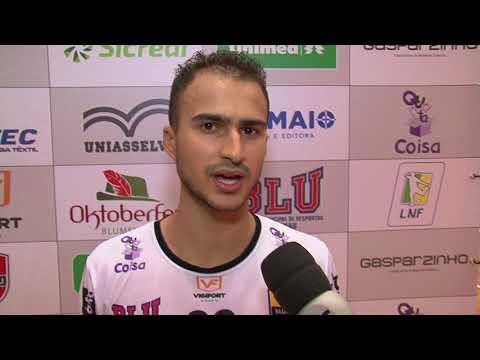 Blumenau Futsal estreia com empate na Liga Nacional