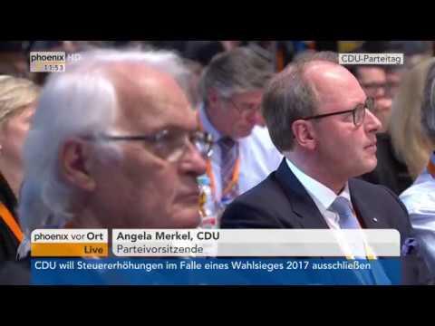 CDU-Parteitag: Rede von Angela Merkel am 06.12.2016