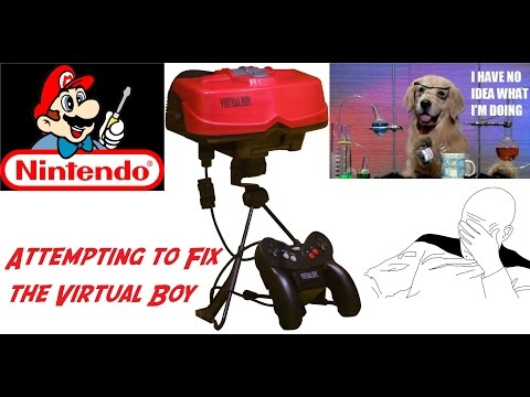 Gamerade - Trying to Repair a Nintendo Virtual Boy - Adam Koralik
