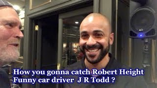 Funny Car Driver J R Todd on catching Robert Hight - NHRA Vegas