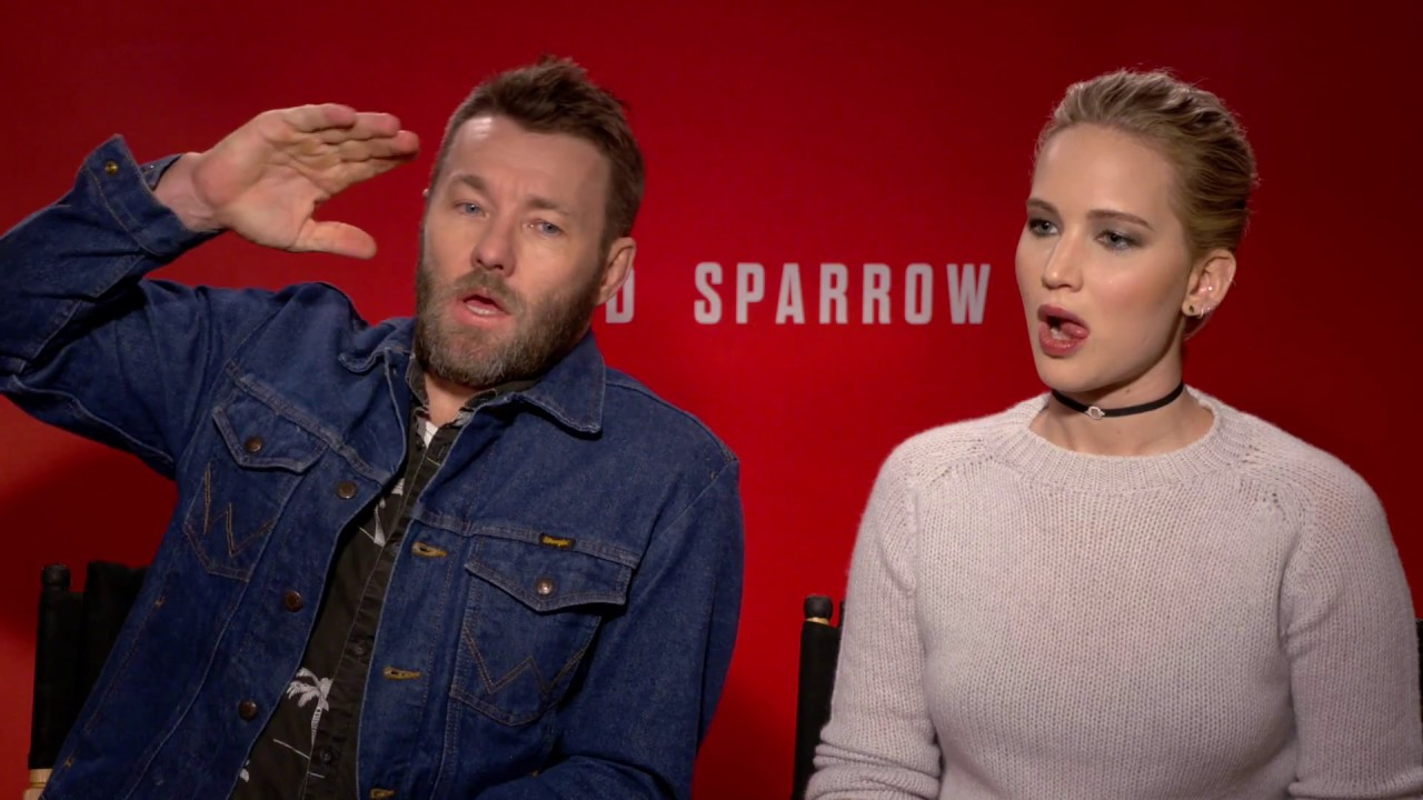 RED SPARROW Interview: Jennifer Lawrence and Joel Edgerton - YouTube