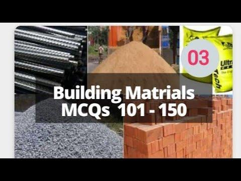 Download Building Materials MCQ'S 101-150 || Part-3#CivilEngineers #Subengineers #LoksewaExams