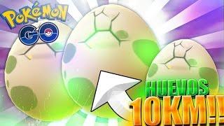 ABRIENDO HUEVOS DE 10 KM en POKEMON GO !! ME TOCA UN LEGENDARIO ?? | Pokemon Go