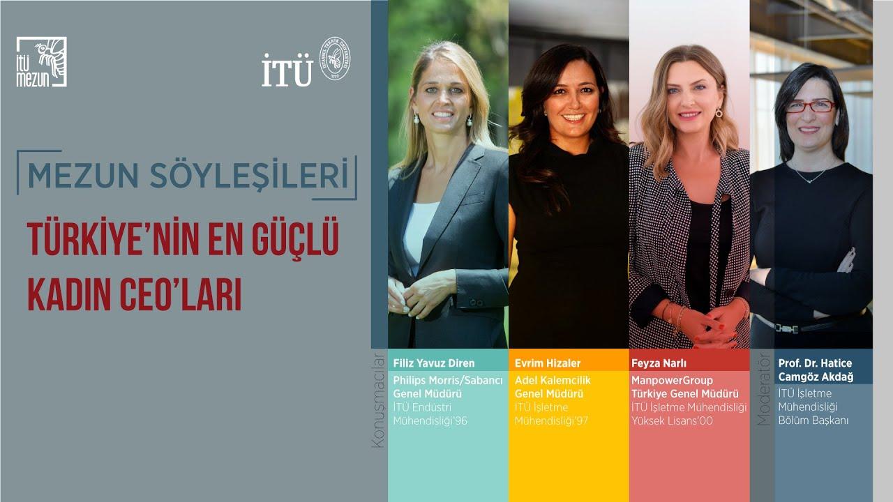 İTÜ | Mezun Söyleşileri - Türkiye'nin En Güçlü Kadın CEO'ları
