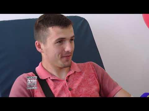 Телерадіокомпанія ВЕЖА: В обласній Станції переливання крові відкрили оновлену донаційну залу