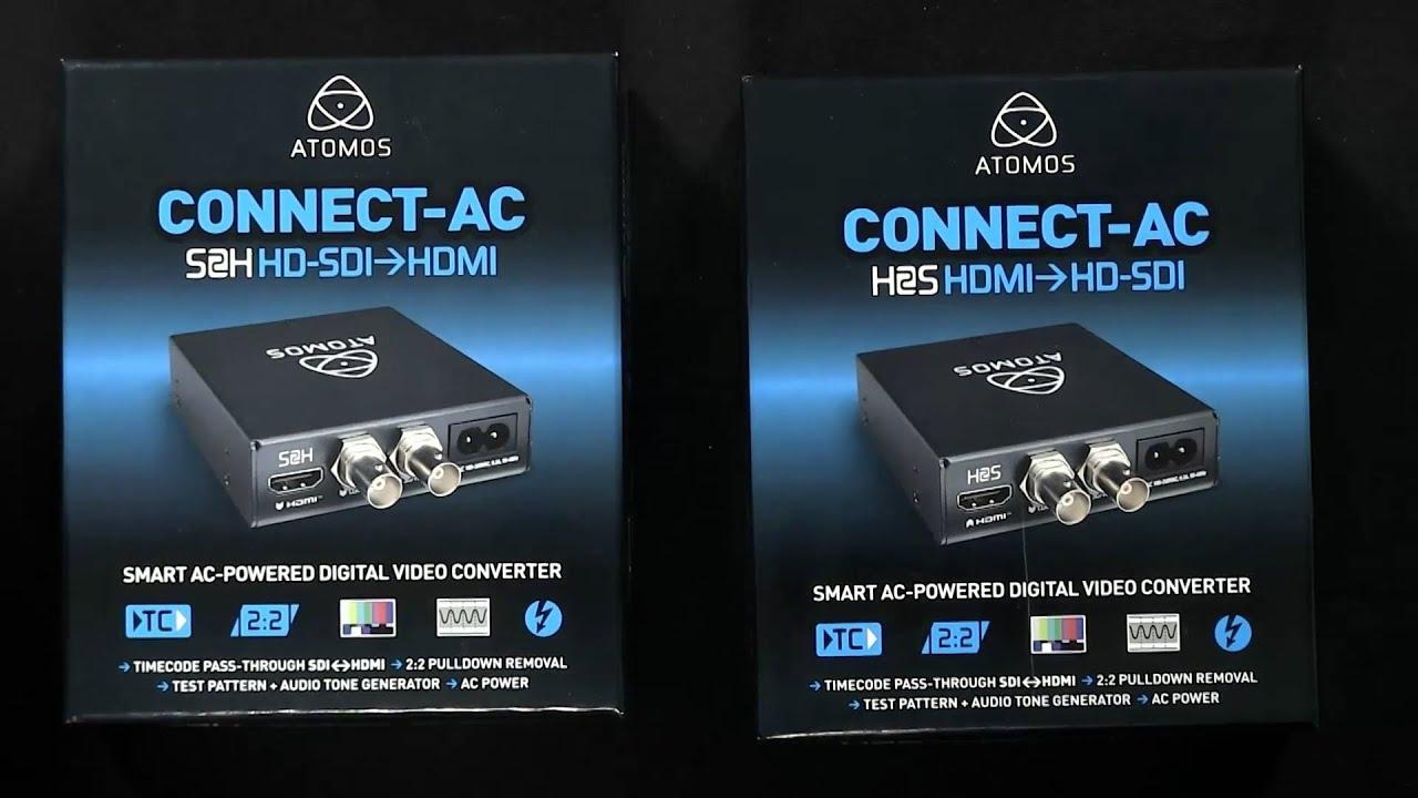 ATOMOS CONNECT-AC CONVERTER DRIVER