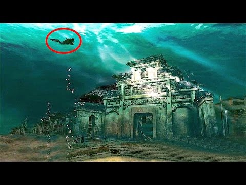 Most Amazing Cities Found UNDERWATER!