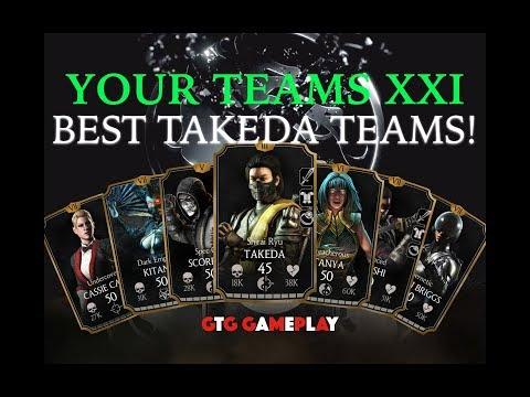 BEST TAKEDA TEAMS! Your Suggested Teams Number 21!