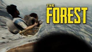 The Forest - НА САНКАХ ПРЯМО В КРАТЕР! УГАРАЛИ ДО СЛЕЗ!