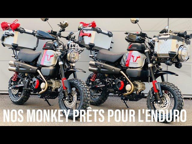 OFF ROAD TRIP MONKEY 125 ► EP1 ► GENÉSE D'UN MONSTRE