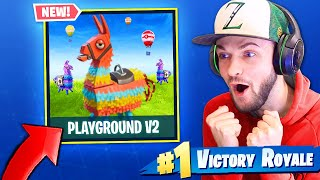 Modo playground v2 * retorna * no Fortnite: Battle Royale! (+ SKINS GRÁTIS)