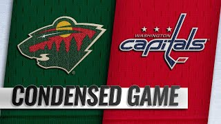 03/22/19 Condensed Game: Wild @ Capitals