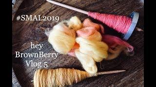 Hey BrownBerry Knitting Vlog Spin & MakeALong 2019 Part 5