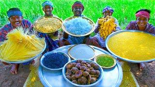 PAYASAM   South Indian Traditional Kheer Recipe   Javvarisi Semiya Paal Payasam   Moong Dal Payasam