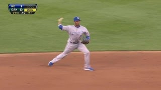 KC@OAK: Escobar