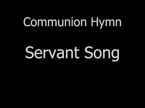 Servant Song   01Oct17