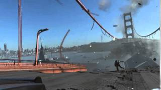 Drone Attack on Golden Gate Bridge