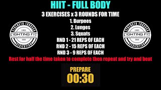 Week 13   HIIT Full Body