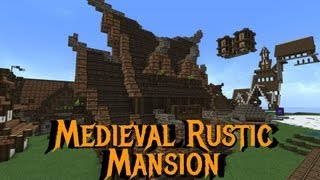 Minecraft - Gundahar Tutorials - Medieval Nordic Mansion Part 2
