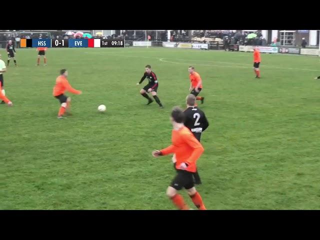 Derby HSSC '61 -  SC Everstein 4 - 4