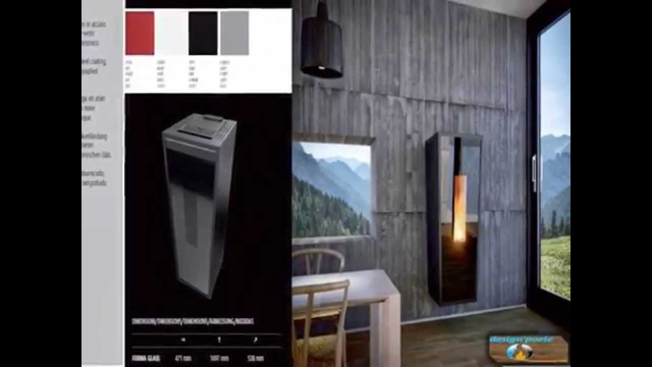design poele calux le sp cialiste du po le granul s et vente de pellets en sarthe youtube. Black Bedroom Furniture Sets. Home Design Ideas