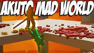 Akuto Gameplay - NIDHOGG MEETS GANGBEASTS - Let