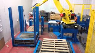 Solutech robot pallet picking