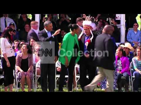 ND:OBAMA STANDING ROCK SIOUX INDIAN RESERVATION