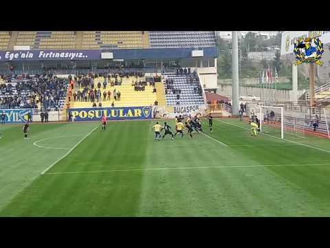 2.Lig Kırmızı Grup 21.Hafta   Bucaspor'umuz 2-0 Kocaeli Birlikspor   Tribün Özeti
