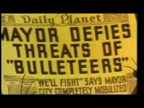 """THE BULLETEERS"" a SUPERMAN Cartoon Classic (1942)"