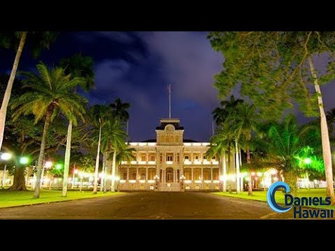 Iolani Palace In Hawaii Auf Oahu Hawaii Five 0 Hauptquartier Youtube