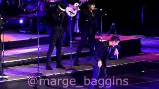 NKOTB - If You Go Away / Please Don't Go Girl [live in Chile]