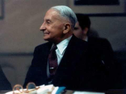 Ludwig von Mises Speaks: Political Economy (1969)